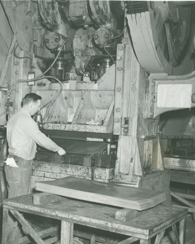 Armor Historic Photo of Worker